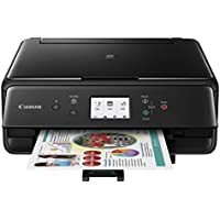 Canon Compact TS6020 Wireless Home Inkjet All-in-One Printer, Copier & Scanner, Mobile Printing, Auto Duplex and Business Card Printing, Black
