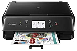 Canon Compact Ts6020 Wireless Home Inkjet All-in-one Printer, Copier & Scanner, Mobile Printing, Auto Duplex & Business Card Printing, Black