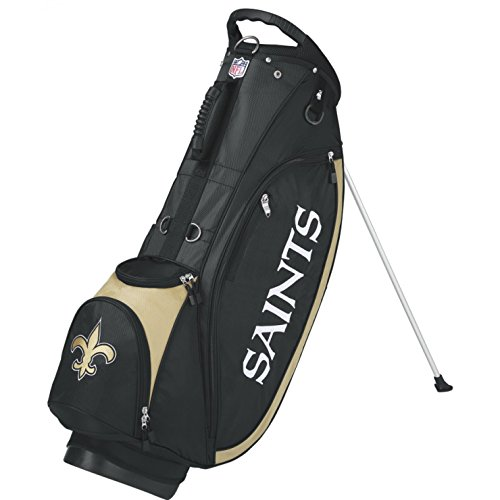 Wilson 2018 NFL Carry Golf Bag, New Orleans Saints