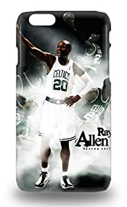 First Class 3D PC Case Cover For Iphone 6 Dual Protection Cover NBA Boston Celtics Ray Allen #20 ( Custom Picture iPhone 6, iPhone 6 PLUS, iPhone 5, iPhone 5S, iPhone 5C, iPhone 4, iPhone 4S,Galaxy S6,Galaxy S5,Galaxy S4,Galaxy S3,Note 3,iPad Mini-Mini 2,iPad Air )