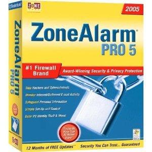 (Riverdeep ZoneAlarm Firewall Pro 2005)