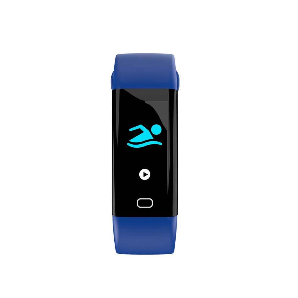 SPORS Waterproof Step Health Cycling Bracelet, Heart Rate Sleep Monitoring Smart Watch, Smart Color Bracelet, 1.3 inch Multi-Sports Bracelet-5 by SPORS
