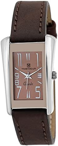 TIMEWEAR Timewear Formal Watch Collection for Women Analogue Women's Watch (Brown Dial Brown Colored Strap)