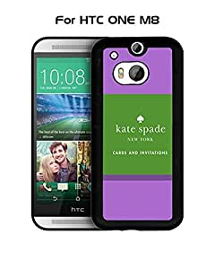 HTC One M8 Funda Case Brand Logo Kate Spade Tough Protection Unique Anti Slip Dust Proof Funda Case Cover