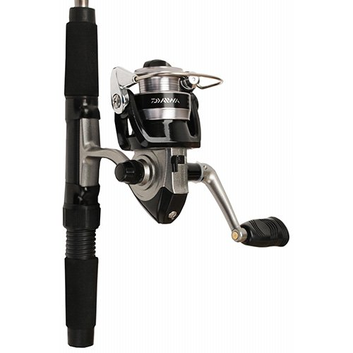 Telescopic Kit Fishing (Daiwa Mini System Minispin Ultralight Spinning Reel and Rod Combo in Hard Carry Case)