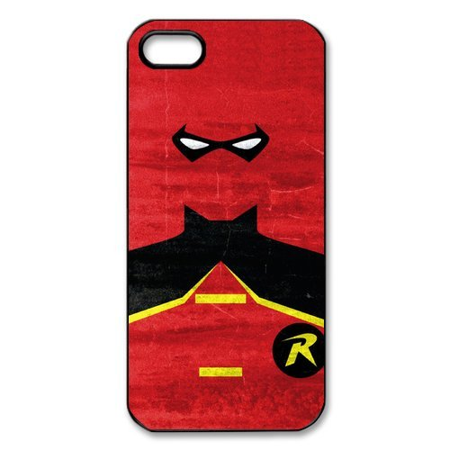 [Pandora icon Robin Equipment Cool Unique Design iPhone 5 5S Case Protecter] (Robin From Arkham City Costumes)