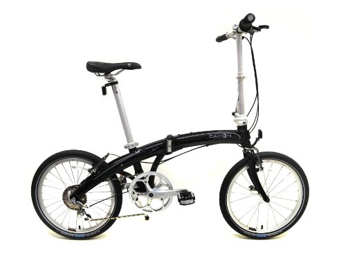 Dahon Mu P8 Folding Bike (20-Inch Wheel, Obsidian) Best Deal