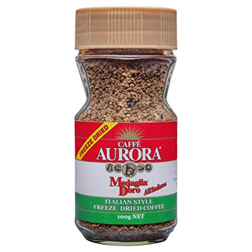 - Instant Coffee - Caffe Aurora Italian Style Freeze Dried Instant Coffee