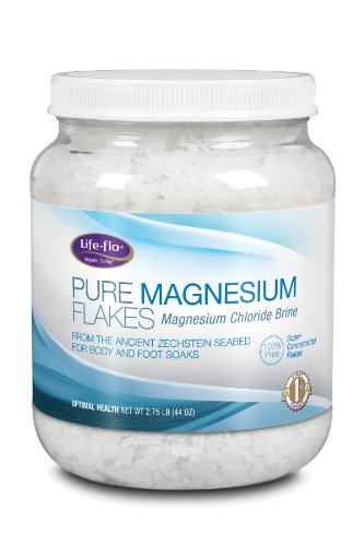 Life-flo Pure Magnesium Flakes, 44 Ounce.