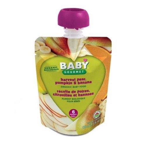 Baby Gourmet Harvest Pear Pumpkin Banana, 1-Pack Baby Gourmet Foods Inc HPPB4BGCSCD0012