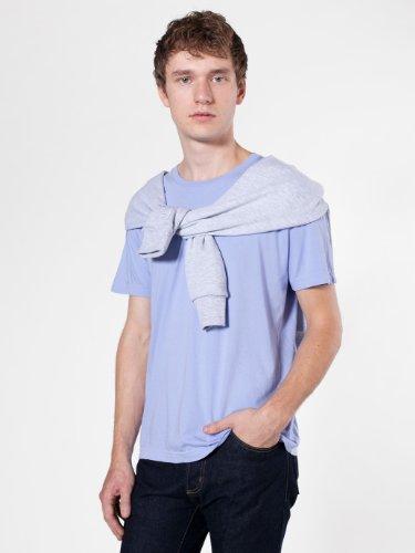 American Apparel Herren T-Shirt blau blau Gr. XS, New Silver