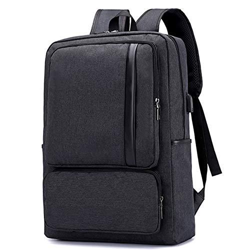 Ploekgda e affari antifurto Nero Zaino Viaggi per porta resistenti di USB durevoli portatili laptop grigio colore con ricarica Bdqdw8Wg