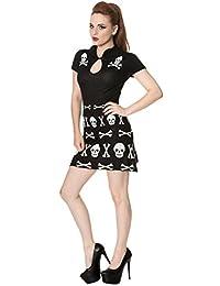 Banned The Afterlife Skull Alternative Mini Dress