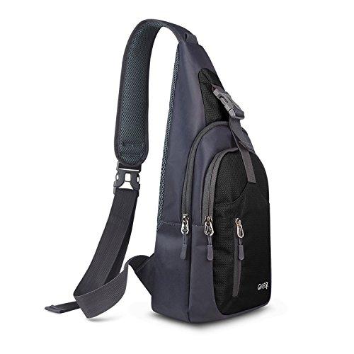 CARQI Sling Bag Waterproof Shoulder Backpack Crossbody Purse for Hiking Camping