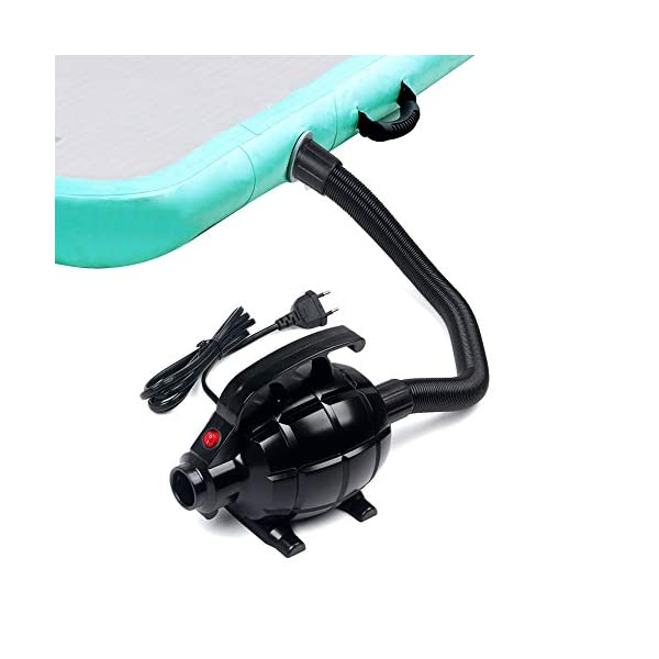 Triclicks Pompa di aria elettrica per gonfiabile SUP Board e gonfiabile aria Tumble Track ginnastica Tumbling Mat… 3 spesavip