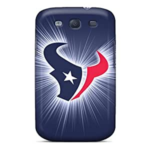 Shockproof Cell-phone Hard Cover For Samsung Galaxy S3 (Kzm4805IcsQ) Allow Personal Design Beautiful Houston Texans Image