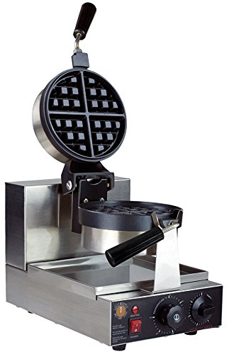 LollyWaffle Belgian Pro - Rotating Waffle Machine (Commercial Waffle Mix compare prices)