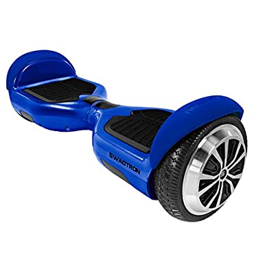 Swagtron T1 - UL 2272 Certified Hoverboard - Electric Self-Balancing Scooter (Blue)