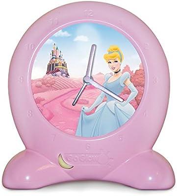 Princesas Disney Get Up N Glow Linterna y lámpara de noche, Rosa ...
