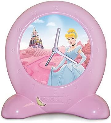 Princesas Disney Get Up N Glow Linterna y lámpara de noche, Rosa