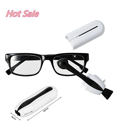 Glasses Cleaner,Nesee Eyeglass Sunglass1 Set Glasses Cleaner Brush Glasses tool - Lunettes Glasses