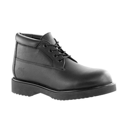 Timberland Chukka Men Work Boot (Timberland Men's Premium WP Newman Chukka Boot, Black, 14 M US)