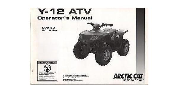 arctic cat 50 atv manual