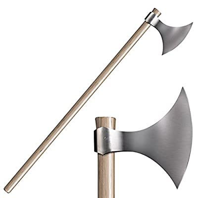 """COLDSTEEL Cold Steel Viking Axe 52"""" Overall Hickory Handle by COLDSTEEL"""