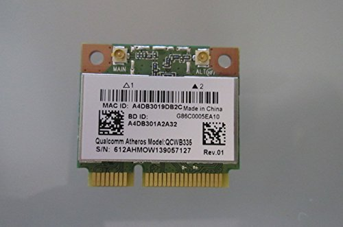 Wifi Wireless QCWB335 card for Toshiba Satellite Satellite C55-A5384 Notebook New Genuine