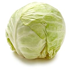 Green Cabbage, One Head