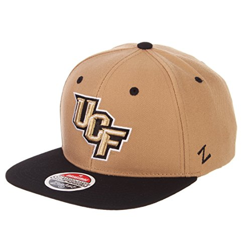 Zephyr Men's Central Florida UCF Knights Z11 ZWOOL HAT Khaki ADJ