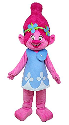 Aris Trolls Poppy Mascot Costume Cartoon Character Mascot Costumes for Birthday Party Buy Mascots at arismascots