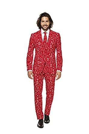 Mens Iconicool Suit and Tie By Opposuits