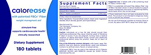(2 PACKS) Calorease FBCx Easy Weight Management Aid 360 tablets