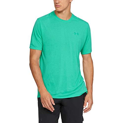 Under Armour Men's Siro Short Sleeve Shirt, Green Malachite Full (349)/Green Malachite, -
