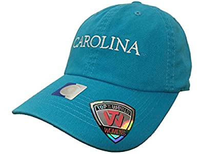 Top of the World South Carolina Gamecocks TOW WOMEN Lagoon Blue Seaside Adjustable Slouch Hat Cap from Top of the World