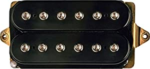 Amazon.com: DiMarzio DP153 Fred Humbucker Pickup Black: Musical ...