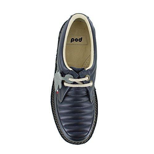 POD Jagger Navy Blue POD Lace Up Shoes Mens UK 9