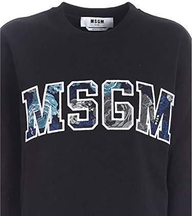 MSGM Mode De Luxe Femme 2941MDM9120779999 Noir Coton Sweatshirt | Automne-Hiver 20