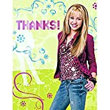 Hannah Montana Thank You Cards 8ct