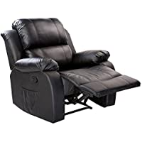 Merax Power Massage Reclining Chair with Heat and Massage Heated Vibrating Massage Recliner