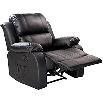 Merax Power Massage Reclining Chair with Heat and Massage Heated Vibrating Massage Recliner  sc 1 st  Amazon.com : chair and a half recliners - islam-shia.org