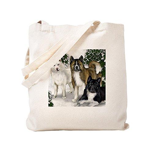 S - Natural Canvas Tote Bag, Cloth Shopping Bag ()