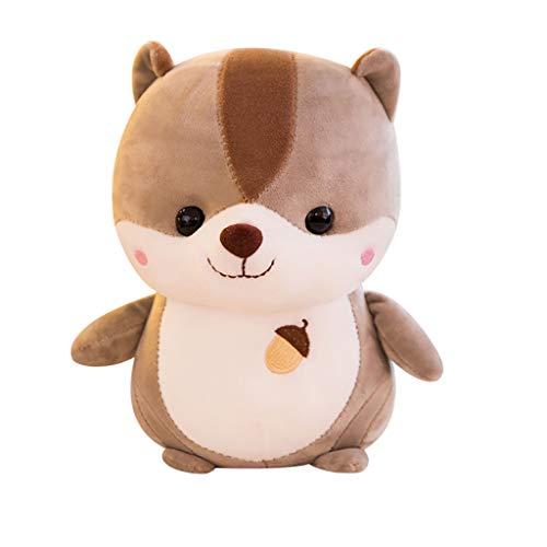 wuliLINL2019Cute Plush Squirrel Stuffed Animal Soft Toys, Plush Toy, Gifts for Kids, Hug'EMS