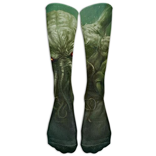 (Octopus Mens Hip-hop 3D Print Sport BascketBall Thicken Long Socks)