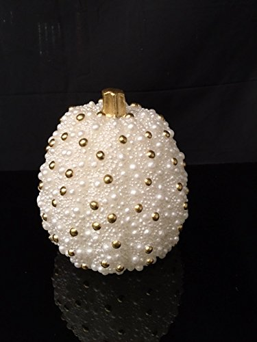 Luna Lumia Stunning Pumpkin LED Flameless Candle With Pearl Beads Flickering Light Candle, Real Wax Candle - Electric Candle | We are giving it away for below cost (5.5