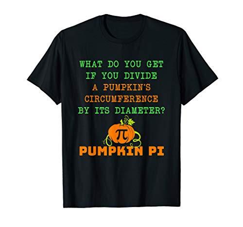 Pumpkin Pi Joke Shirt Math Algebra Teachers Halloween Gift ()