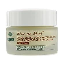 Nuxe Reve De Miel-Ultra Comfortable Face Day Cream for Unisex-1.5-Ounce
