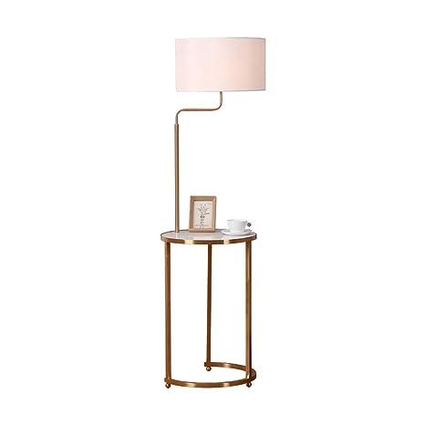HLF- Lámpara de pie, Mesa de Centro Moderna Minimalista de ...
