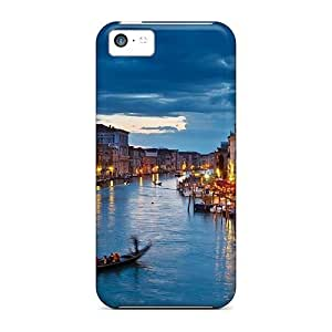 Top Quality Rugged Night In Venice Case Cover For Iphone 5c hjbrhga1544